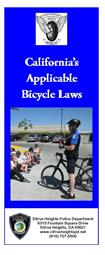 Bike Laws Brochure