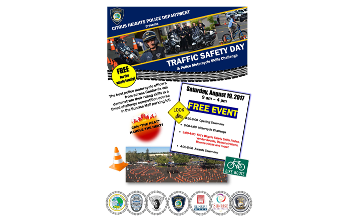 Traffic Safety Day Poster