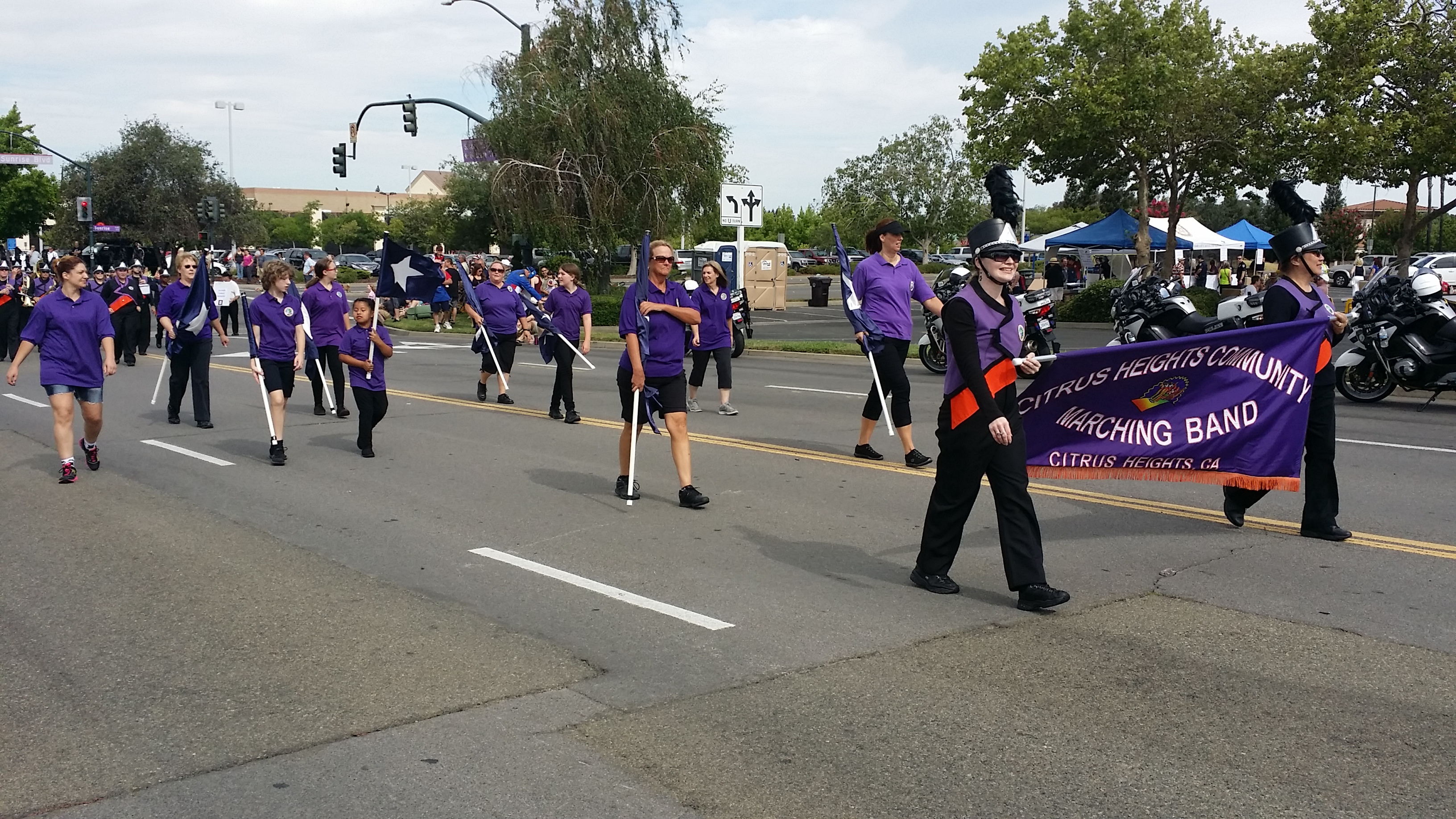 The Citrus Heights Community Marching Band